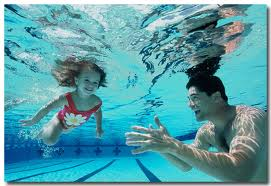 Parent's learn how to teach a child to swim!