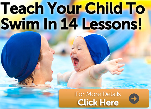 Teach your child to swim in 14 lessons