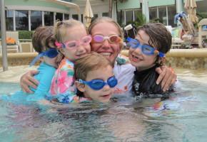 Certified Swim Instructor Michelle Has Taught Over 330 Children To Swim With Her Swim Program.