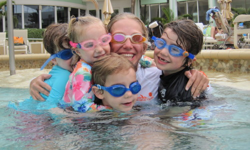Certified Swim Instructor Michelle Has Taught Over 330 Children To Swim With Her Swim Program.
